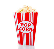 A container with popcorn Stock Images