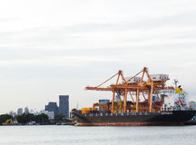 Container port Stock Images