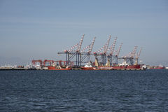 CONTAINER PORT CAPE TOWN SOUTHERN AFRICA Stock Photo