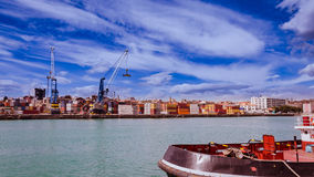 Container in Port royalty free stock photo