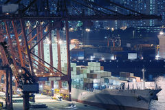 Container port Royalty Free Stock Photography