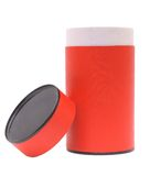 Container for products. Container for storage of loose products on a white background Stock Photography