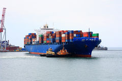 Free Container Ship Stock Image - 15963311