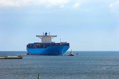 Container Ship Royalty Free Stock Photos