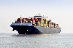 Container ship royalty free stock image
