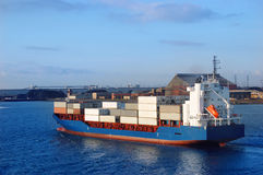 Container ship Stock Photography