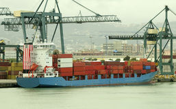 Container ship Stock Images