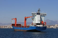Container ship Asiatic Wind Stock Photo