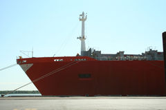 Container Ship At Dock 2 Royalty Free Stock Photography