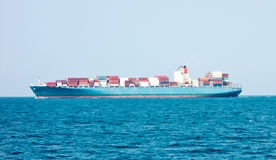 Container ship Royalty Free Stock Photography