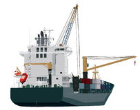 Container ship loading in port Stock Photography