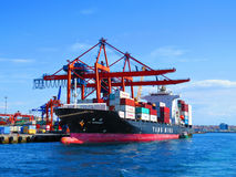 Container ship YM Incremen Stock Photography