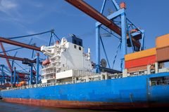 Container shipment Stock Images