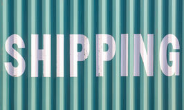 Container shipping Royalty Free Stock Photography