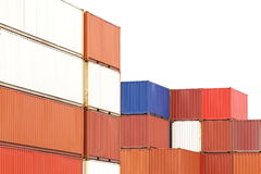 Container shipping Stock Images