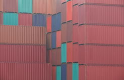 Container shipping Royalty Free Stock Photo