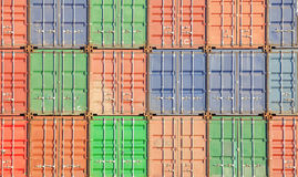 Container shipping Royalty Free Stock Photos
