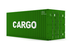 Container. A container for shipping goods Royalty Free Stock Photos