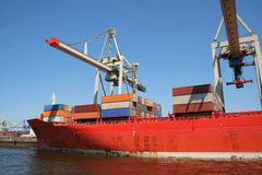 Container Shipping Industry XXIII Stock Image