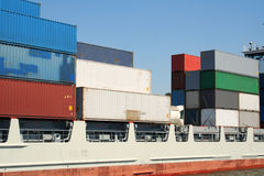 Container Shipping Industry XXVI Royalty Free Stock Image