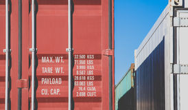 Container shipping Stock Photos