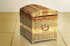 The container for storage of various things in the form of larets Royalty Free Stock Image