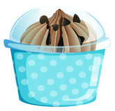 A container with a sweet dessert Royalty Free Stock Photo