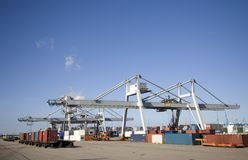 Container terminal 1 Stock Photos