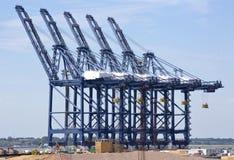 Container terminal stock photos