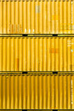 Container terminal fragment Royalty Free Stock Photo