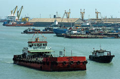Container terminal Jamrud Surabaya Stock Photography