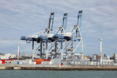 Container Terminal Royalty Free Stock Photography