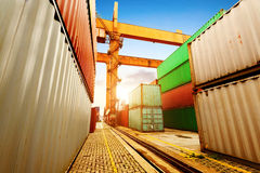 Container Terminal Royalty Free Stock Image