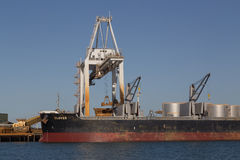 Container terminal in Townsville, Australia Stock Photo