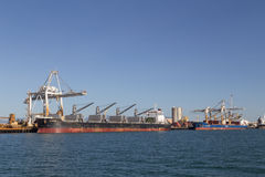 Container terminal in Townsville, Australia Stock Image