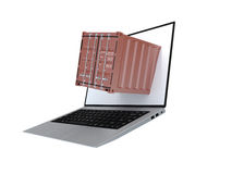 Container for transport of cargo Royalty Free Stock Images