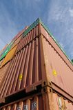 Container transport Stock Photography
