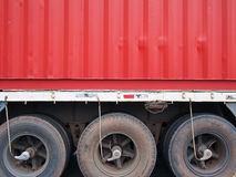 Container Truck Royalty Free Stock Photos