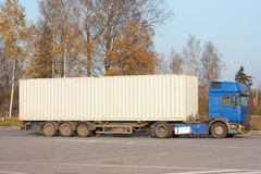 Container truck Stock Image