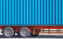 Container truck Stock Photos