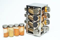Container van kruiden Royalty-vrije Stock Fotografie