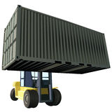 Container vector Royalty Free Stock Images