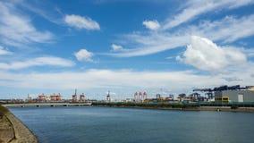 Container verschepende terminal, Sydney, Australië Stock Foto