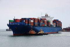 Container Vessel Stock Images