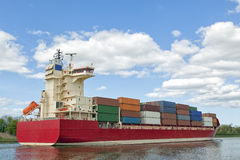 Container vessel Royalty Free Stock Image