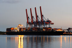Container Vessel Royalty Free Stock Photography