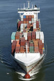 Container vessel Royalty Free Stock Photos