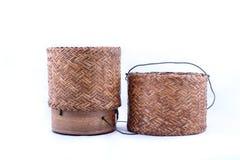 Container voor gestoomde glutineuze rijst Royalty-vrije Stock Afbeelding