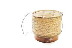 Container voor kleverige rijst Royalty-vrije Stock Afbeelding
