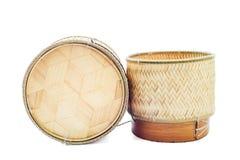 Container voor kleverige rijst Royalty-vrije Stock Fotografie